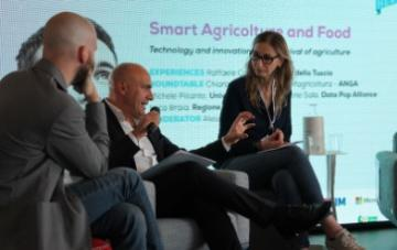 "Braia al talk ""Smart Agricolture and Food"" nell'ambito..."